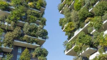 jardin vertical immeuble végétalisé ville