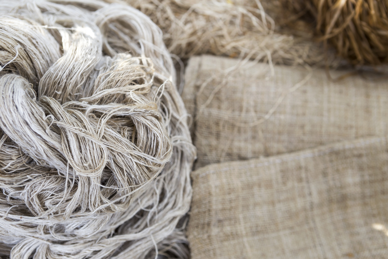 tissu lin fibre écologique