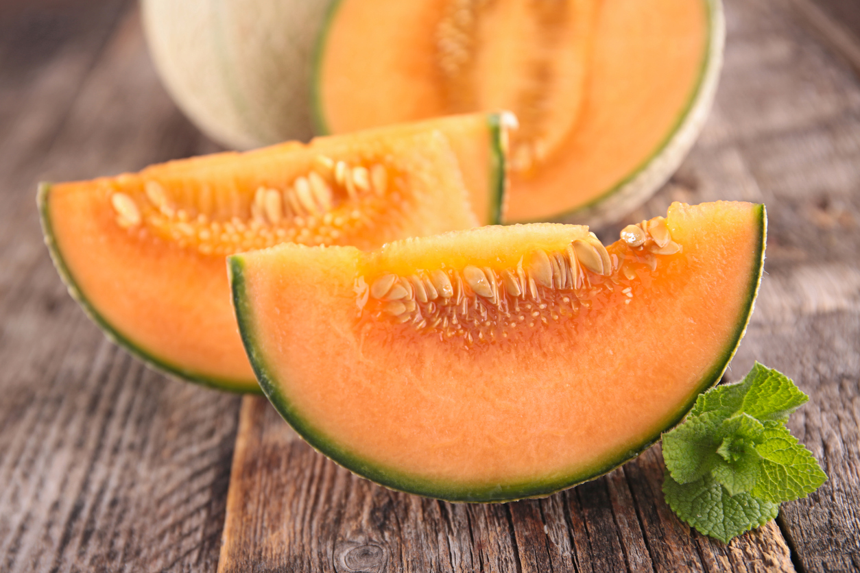 melon fruit été confiture cuisine recette écorce