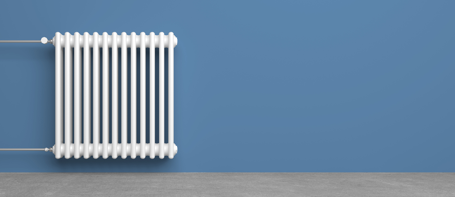 radiateur en fonte au fioul chauffage polluant carbone