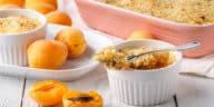 crumble dessert abricot amandons recette cuisine zéro déchet