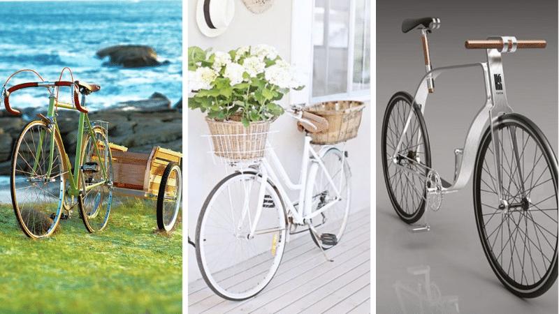superbes modèles de vélos bicyclettes style cycliste