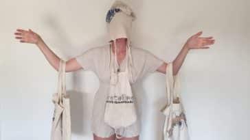 tote bag sacs en coton réutilisable bio