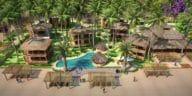 ville écologique station balnéaire Mexique Amaitlan
