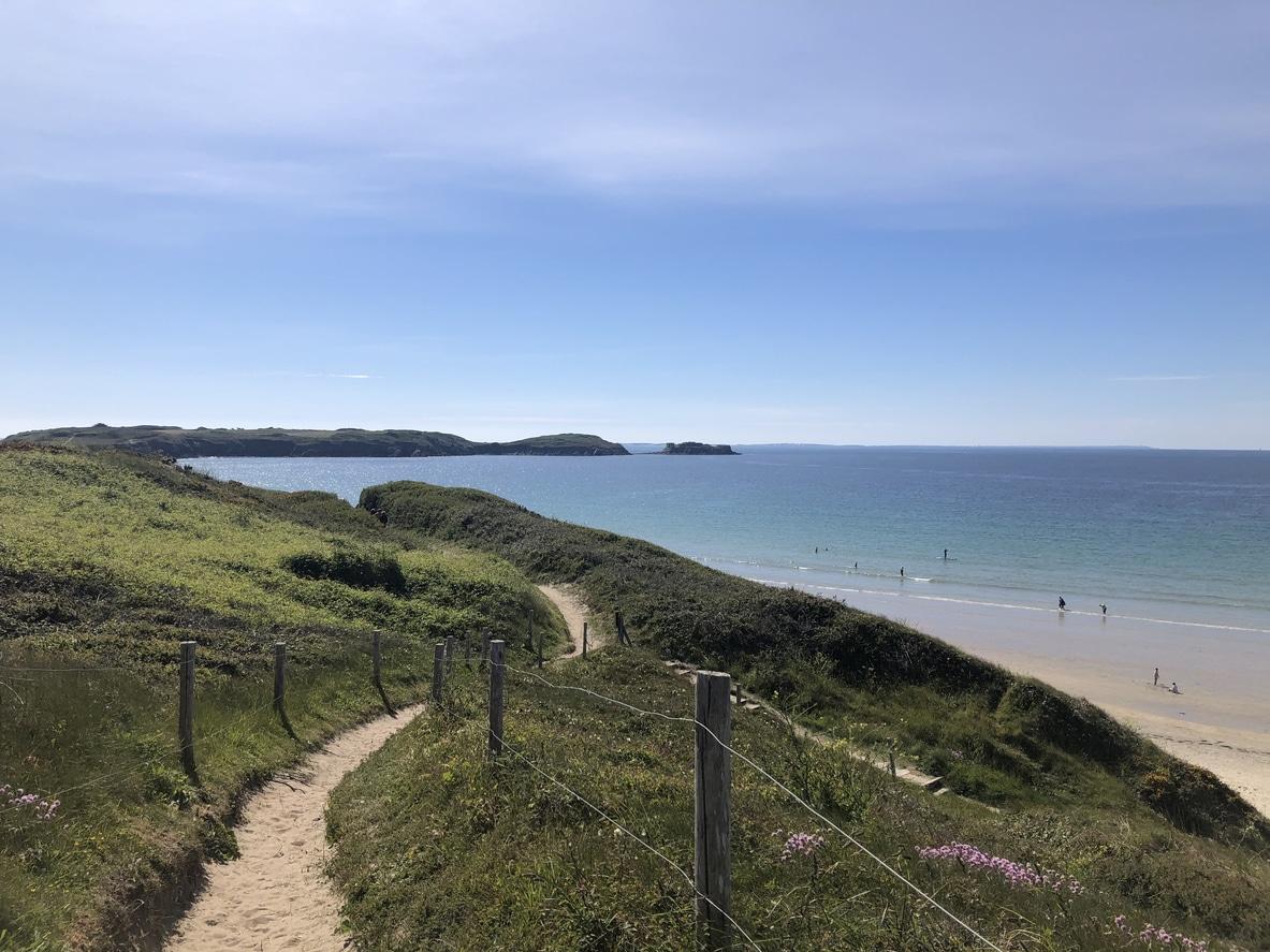 The Conquet plage tourisme vert bretagne écotourisme France voyage responsable
