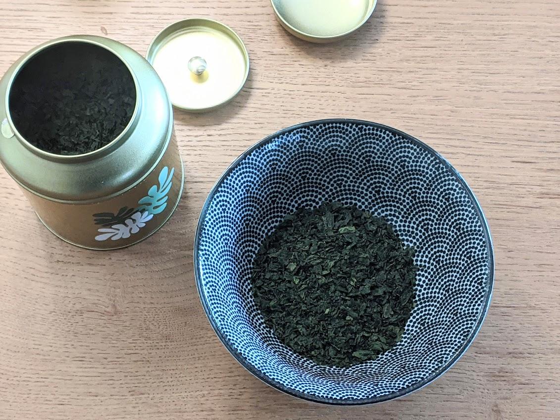 algues recette tartare