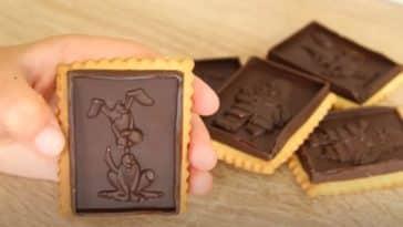 biscuits petit lu écoliers chocolat recette maison