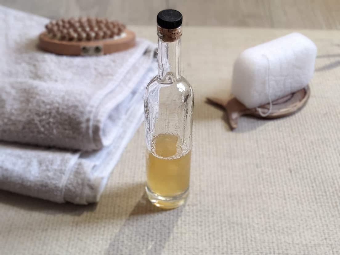 gel douche maison naturel recette