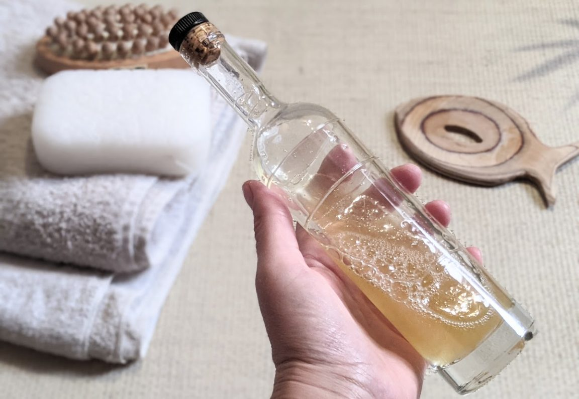 savon liquide corps maison savon recette naturelle