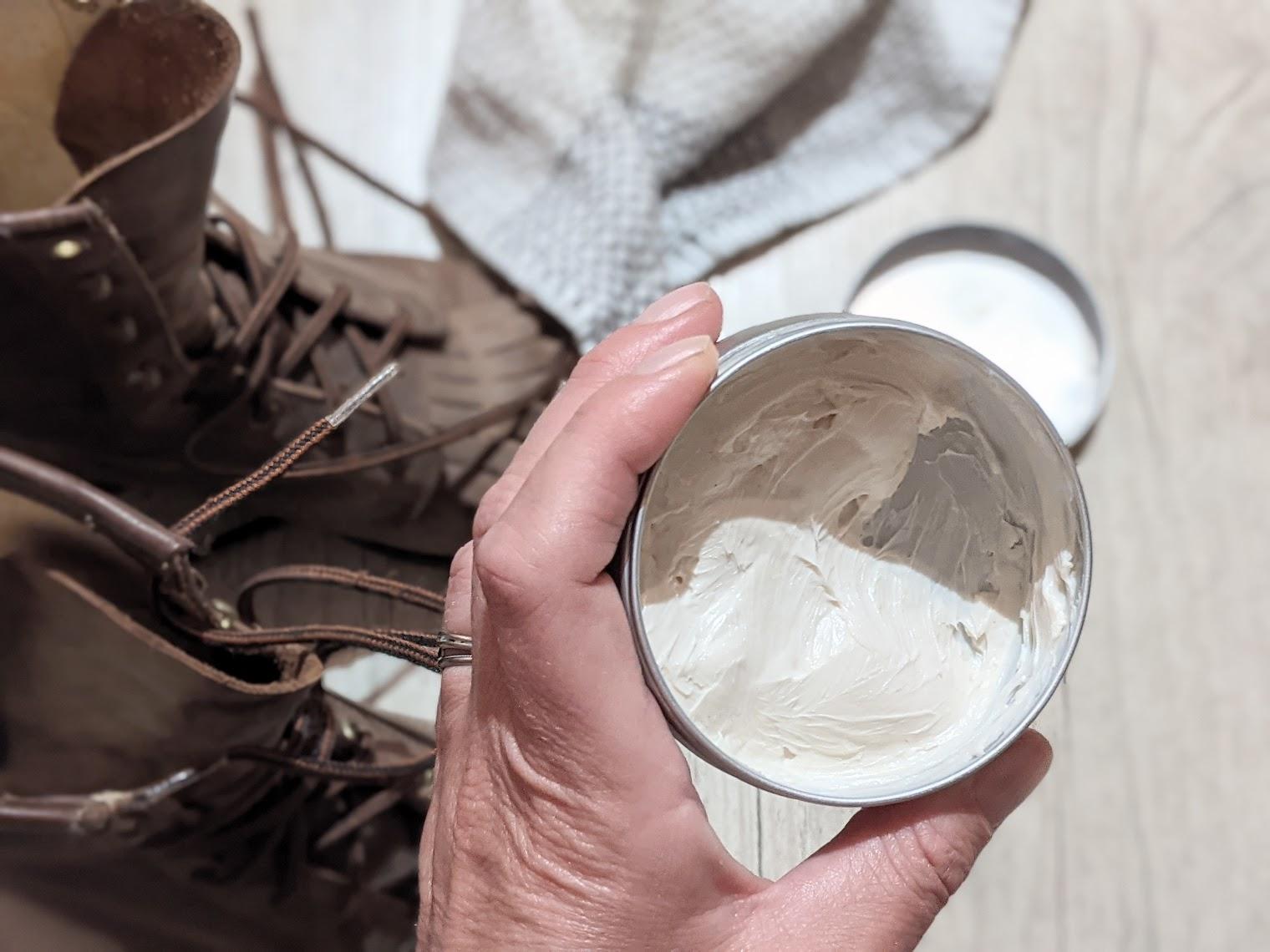 recette cirage naturel maison crème