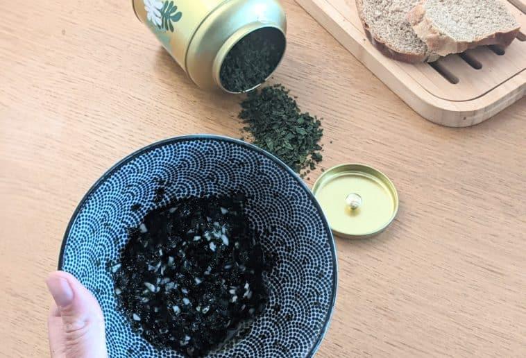 recette tartare algue maison