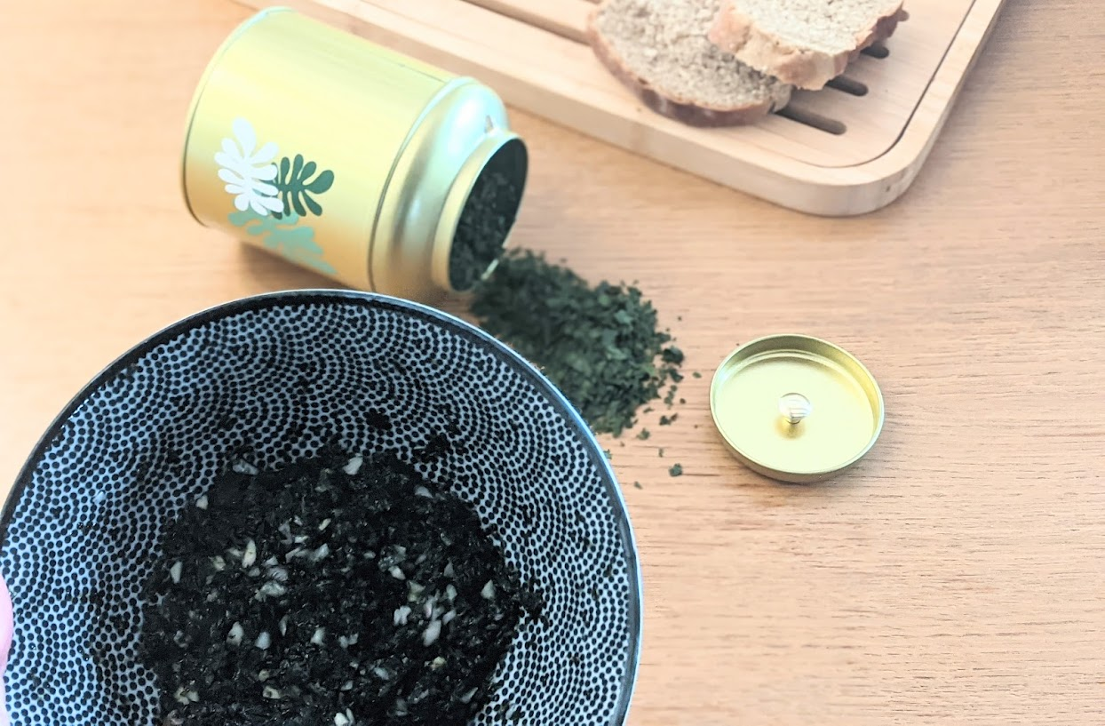algue recette laitue wakame
