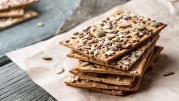 crackers recette maison biscuits apéritif zéro déchet cuisine