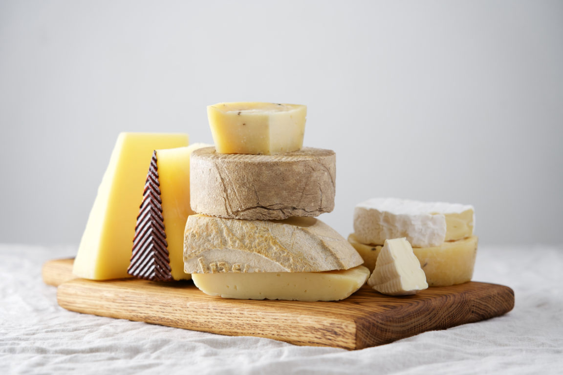 fromages plateau manger végétarien fromage