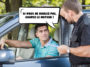 police infraction voiture conducteur laisser moteur tourner arrêt marche contravention