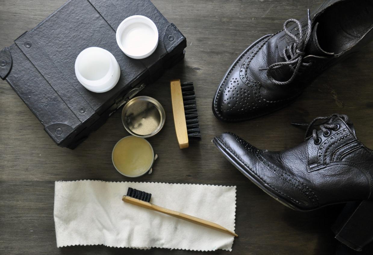 cirage noir recette naturelle maison chaussures cuir cire abeille