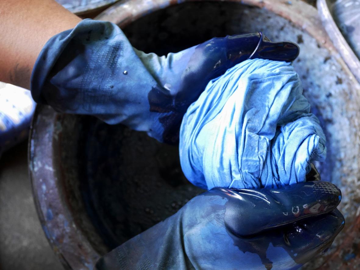 teintures bleu naturelle recette zéro déchet couleur vêtements